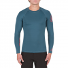 Volcom Lido Solid Long Sleeve Rashguard Airforce Blue Xl