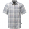 The North Face Short Sleeve Expedition Shirt Urban Navy Plaid Xl