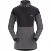 Arc'teryx Taema Zip Neck Shirt LS - Women's Black Lg