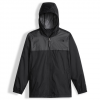The North Face Zipline Rain Jacket - Boy's High Rise Grey Lg
