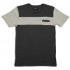 Imperial Nelson Pocket Tee  Charcoal/oatmeal Xl