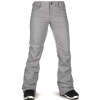 Volcom Species Stretch Pants - Women's Heather Grey S