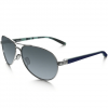 Oakley Feedback Sunglasses Pol Chrome/gry Grad Polar .