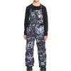 Quiksilver Stratus Snow Bib Pants - Kids' Black/tannenbaum 16/xxl