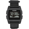 Nixon Base Tide Nylon 38 mm Watch All Black One Size