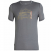 Icebreaker Tech Lite Short Sleeve Crewe Surfspot Camper Shirt - Men's