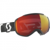 Scott Faze II Goggle Black/white/enhancer Red N/a