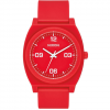 Nixon Time Teller P Corp 40 mm Matte Red/white One Size