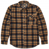 Billabong Furnace Flannel Polar Fleece Shirt - Men's Grv Xl