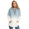 Roxy Time Has Come Poncho Hoody - Women's Blue Mirage Heather Md