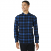 Oakley Icon Flannel LS Shirt - Men's Dark Blue Xxl