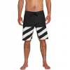 Volcom Stone Plus Mod Boardshorts - Men's Black White 33