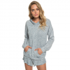 Roxy Sandy Coast Super Soft Hoodie - Women's Blue Mirage Heather Lg