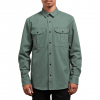Volcom Huckster Long Sleeve Shirt - Men's Pine Lg
