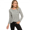 Roxy Sea Skipper Long Sleeve Top - Women's Heritage Heather Md