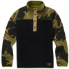 Burton Kid's Spark Anorak Fleece True Black/mtn Camo Xl