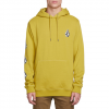 Volcom Deadly Stones Pullover Hoodie - Men's Olive Xl