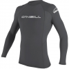 O'Neill Basic Skins 50+ L/S Rash Guard Black Lg