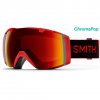Smith I/O Goggles Black/cpop Green W/storm Rose