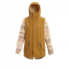 Burton Sadie Rain Jacket - Women's Wood Thrush / Creme Brulee Rev Xl