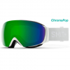 Smith I/O Mag S Goggles - Women's White Vapor/cpop Green W/storm Rose