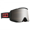 Spy Ace Snow Goggle Night Rider Matte Black/silver W/clear