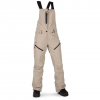 Volcom Elm GORE-TEX BIb Overall - Women's Sand Brown Xl