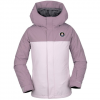 Volcom Sass'n'fras Insulated Jacket - Girl's Violet Ice Xl