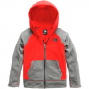 The North Face Toddler Glacier Full Zip Hoodie Fiery Red 4t