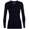 Icebreaker 260 Tech LS Crewe Shirt - Women's Black Sm