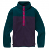Burton Hearth Pullover - Women's Deep Teal / Purple Velvet Xs