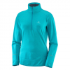 Salomon Discovery Half Zip - Women's Tile Blue Sm
