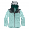 The North Face Warm Storm Jacket - Girl's Windmill Blue Xl