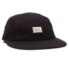 Obey Ideals Organic 5 Panel Hat Black One Size