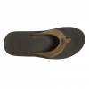 Reef Leather Fanning Sandals White/brown 15.0