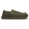 Sanuk Hemp Shoes Olive 8