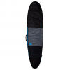 Creature of Leisure Longboard Day Use Surfboard Bag Charcoal Cyan 7'6""