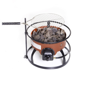 Camp Chef Portable Propane Fire Pit with Grill Accessory