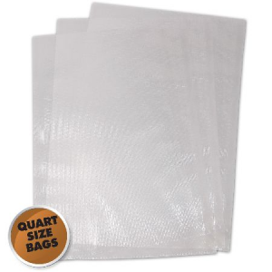 "Weston Vacuum Sealer Bags, 8"" x 12"" 100 Count"
