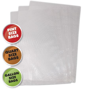Weston Vacuum Sealer Bags, Variety Pack 50 Count