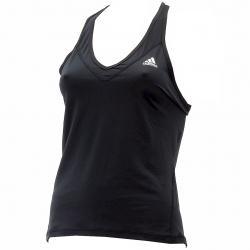 Adidas Women's Techfit Strappy Climalite Training Tank Top Shirt - Black - Large