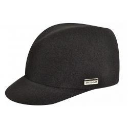 Kangol Women's Wool Colette Fashion Trilby Hat - Black - X Large