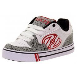 Heelys Boy's Motion Plus Skate Sneakers Shoes - White - 1 M US Little Kid