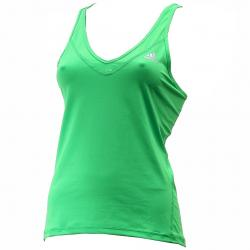 Adidas Women's Techfit Strappy Climalite Training Tank Top Shirt - Green - Large