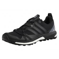 Adidas Men's Terrex Agravic All Terrain Trail Running Sneakers Shoes - Black - 10.5 D(M) US