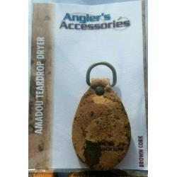 Angler's Accessories Cork Teardrop Amadou Fly Dryer