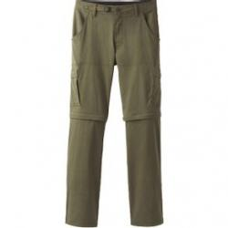 "prAna Stretch Zion Convertible Pant (Inseam 30"") - Men's 35W-30L Cargo Green"