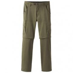 prAna Stretch Zion Convertible Pant - Men's 33W-34L Cargo Green