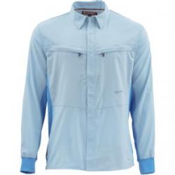 Simms Intruder Bicomp Fishing Shirt - Men's XL Mist