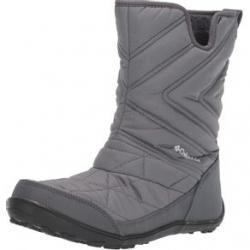 Columbia Minx Slip III Boots - Youth 4Y Ti Grey Steel/ White Regular